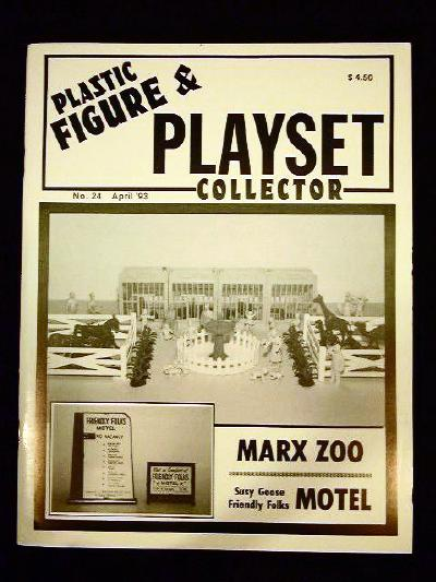 issue #24 ''MARX Zoo Playset & SUSY GOOSE Motel''