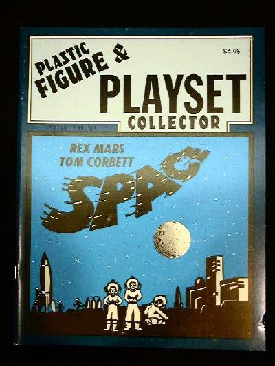 issue #29  ''MARX Tom Corbett, Rex Mars & Canadian playsets''