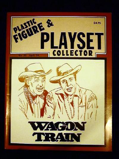issue #30 ''MARX Wagon Train playset & TIMPO Western playset''