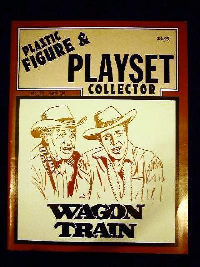issue #30 ''MARX Wagon Train playset & TIMPO Western playset''