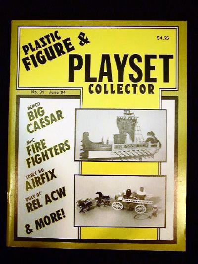 issue #31 ''REMCO Big Caeser, MPC Firehouse, Airfix & SUSY GOOSE Superette playsets''