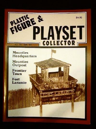 issue #33 ''IDEAL Mounties & Frontier playsets''