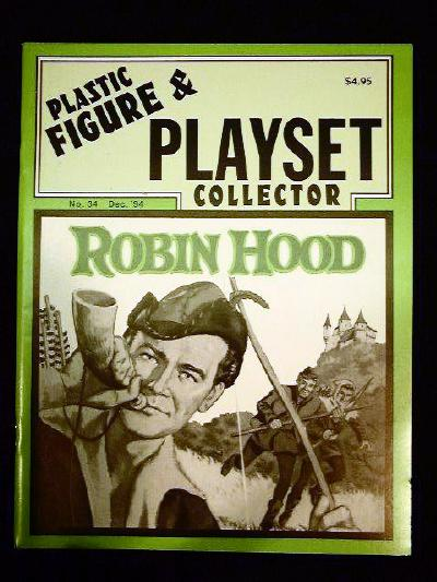 issue #34 ''MARX Robin Hood and Commanche Pass playsets''