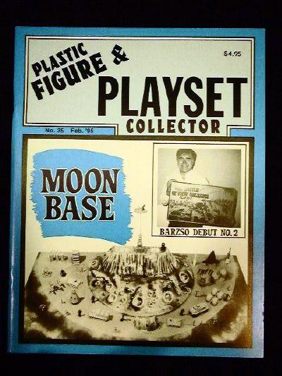 issue #35   ''MARX Moon Base & Project Apollo playsets''