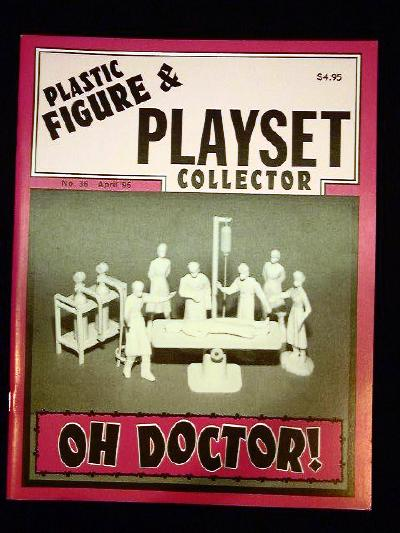 issue #36 ''METTOY General Hospital playset'' Hopalong Cassidy