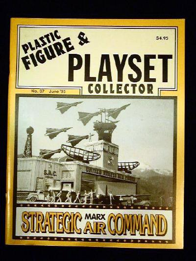 issue #37 ''MARX SAC & Shoe Box playsets''