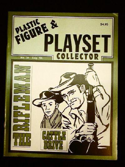 issue #38 ''MARX Rifleman Ranch & Cattle Drive playsets''