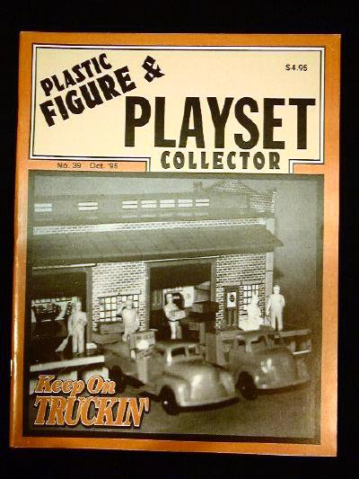 issue #39 ''MARX Freight Station playsets''