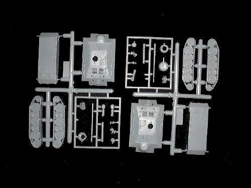 Germans Panzer E-25 tank destroyers (x2) (7602) <font color=#CC0000>(25mm) </FONT>