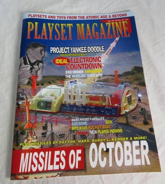 Playset Magazine #101 Remco Project Yankee Doodle + Ideal + Marx++