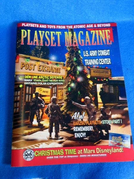 PlaysetMagazine #108, U.S. Army Combat center + Barzso sets