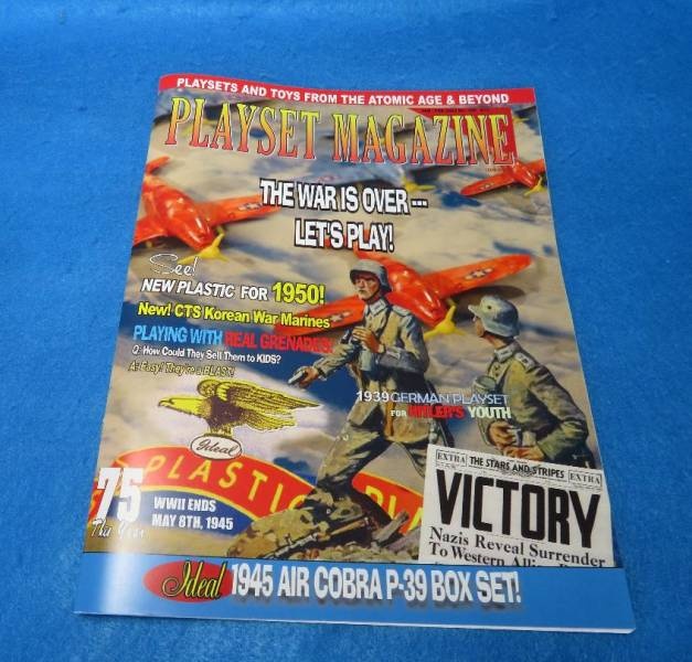 Playset Magazine #109 Post War new plastic and metal toys many companies