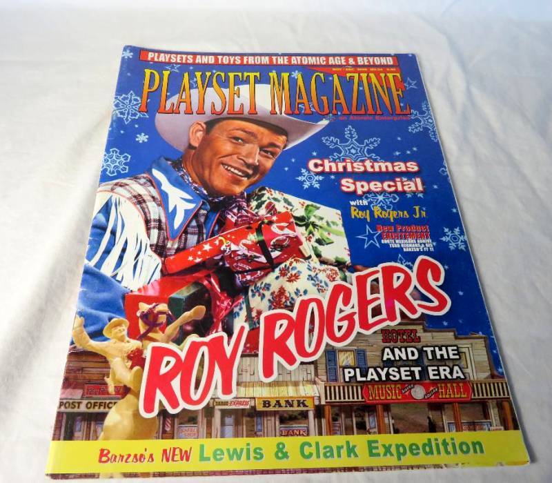 playset Magazine #24 Roy Rogers playsets of the 1950's