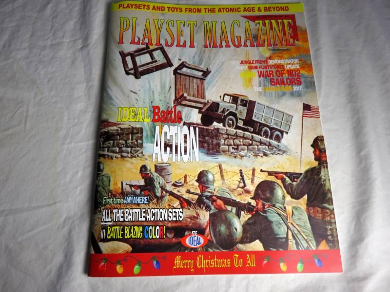 Playset Magazine #96 Ideal Battle Action sets, Marx 1812 sailors+ more