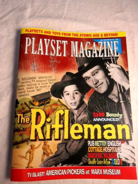 Playset Magazine #97 The Rifleman playset + American Pickers