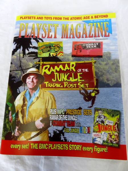 Playset Magazine #98 MPC Ramar and other Prestige playsets