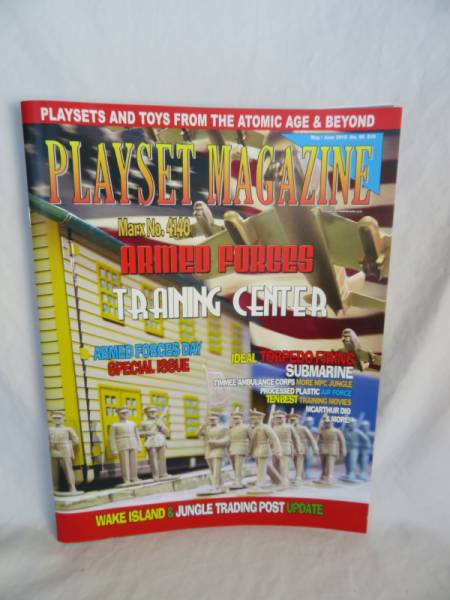 MPC Civil War playset+TimMee Toy Playset Magazine #52 Big Inch construction