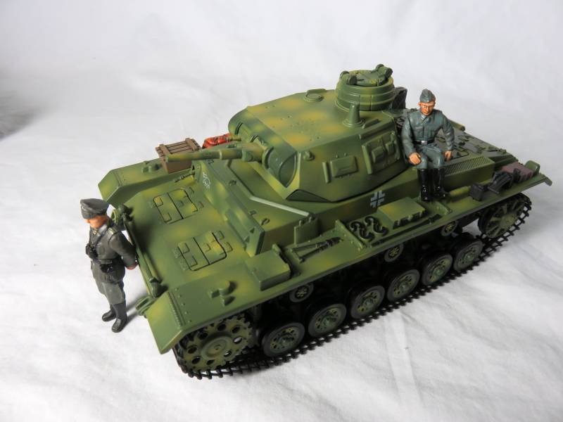 Ultimate Soldier WWII German Panzer III tank, 54mm,