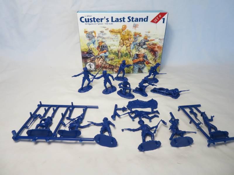 Custer's Last Stand by Waterloo (AP047), 14 figures, 1/32 plastic