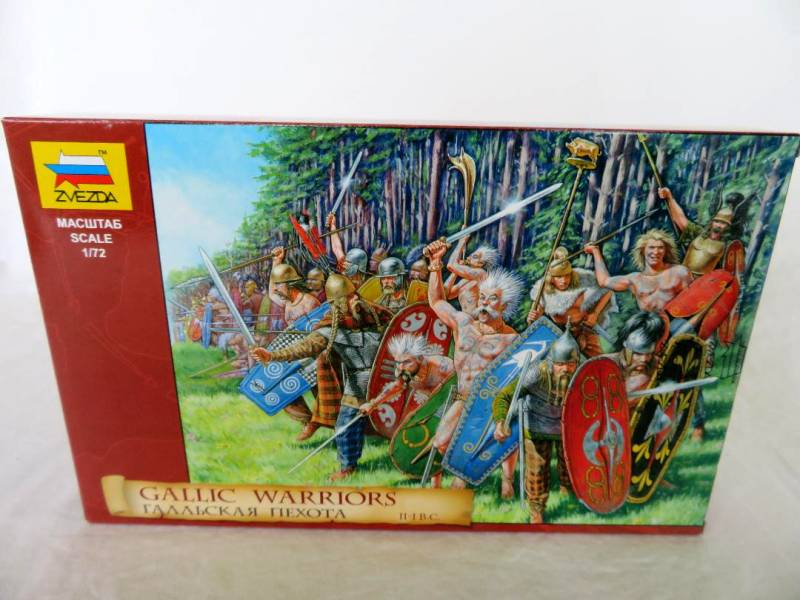 ZVZ012A Gallic Warriors II- B.C. (25MM) 40 figures